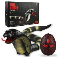 ?创意儿童整蛊玩具 遥控蛇毛毛虫仿真蛇动物恶搞整人抖音网红发泄玩具