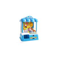 儿童抓娃娃机玩具迷你小型夹娃娃机投币夹公仔机夹糖果机扭蛋机