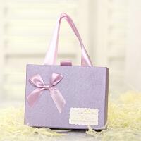 创意婚礼喜糖盒子结婚纸盒婚庆用品成品定制长方形抽屉式糖果礼盒10个