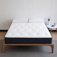 乳胶床垫1.8m2*2.2米3D弹簧酒店床垫1.5椰棕定制做北欧 黑灰色 26cm(3D+天然乳胶+太空棉+羽丝