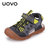 【1件3折价:99元】UOVO儿童凉鞋2021新款男童凉鞋夏季包头宝宝沙滩鞋中小童童鞋潮格兰德