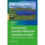 【预订】Structure and Function of Mountain Ecosystems in Japan