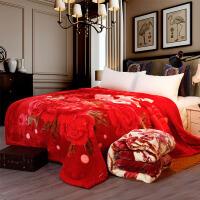 ???新品毛毯加厚毛毯双面盖毯双面婚庆法莱绒毯子