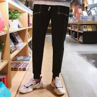 男士运动裤男士宽松大贴袋长裤小脚卫裤休闲裤男大码跑步裤子潮K8008