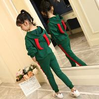 女童秋装套装中大童洋气时髦小女孩儿童装两件套潮衣