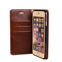 苹果8p7手机壳真皮6s翻盖式皮套iphone6plus保护套全包防摔商务男