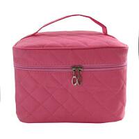 韩版专业化妆包袋箱大容量收纳手提化妆包便携包
