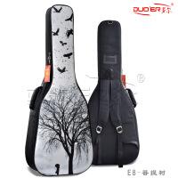 个性彩绘电吉他包 加厚古典民谣吉它袋36/40/41/42寸防水电贝司包