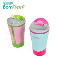 吸管杯儿童学饮杯婴幼儿喝水壶小孩饮水防漏男女宝宝水杯a218