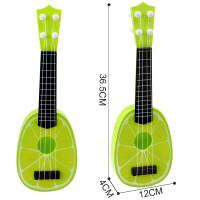 ?儿童吉他玩具可弹奏尤克里里迷你乐器男女孩宝宝初学者水果小吉他?