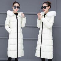 羽绒衣女反季棉衣冬季韩版加厚中长款过膝保暖外套