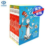 英文原版 苏斯博士经典绘本20册套装 A Classic Case of Dr. Seuss 儿童青少年英语故事书读物