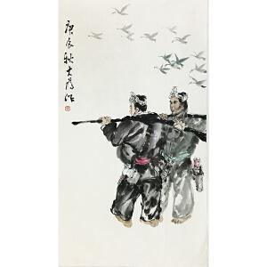 刘大为《人物》中国美术家协会主席