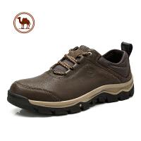 骆驼牌男鞋流户外休闲鞋真皮牛皮鞋子男百搭运动鞋耐磨登山鞋潮