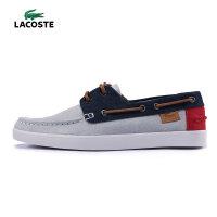 LACOSTE 法国鳄鱼 男鞋 运动休闲鞋 低帮板鞋 帆船鞋  29SRM2415