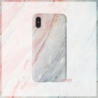 简约渐变大理石纹软壳苹果x/Xs/Max/XR手机壳iPhone8plus/7女款6s