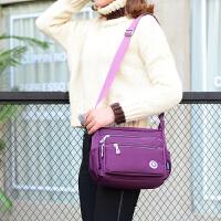 2017新款中年女包女士包包尼龙牛津纺帆布包单肩斜挎包防水妈妈包