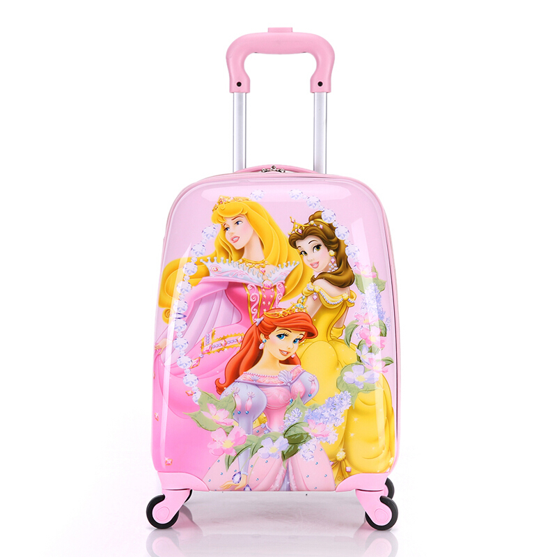 儿童拉杆箱行李箱可爱蜘蛛侠卡通旅行箱学生登机箱万向轮18英寸男女时尚密码箱手拉箱