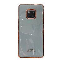 电镀纯色适用于华为p30手机壳简约p20pro防摔mate20pro软硅胶mate30网红保护套nova5pro/5i手