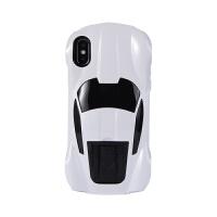 创意iphoneX手机壳苹果X法拉利跑车壳个性5.8寸汽车支架个性男女