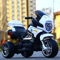 厂家直销儿童电动三轮摩托车 带音乐减震单双驱电动玩具车a1111