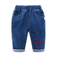 女宝宝春装新款长裤婴儿女童0岁牛仔裤春秋装裤子