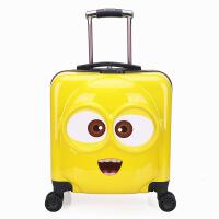 ?卡通小�S人�和�拉�U箱男女旅行箱����行李箱20寸�f向�孩子登�C箱