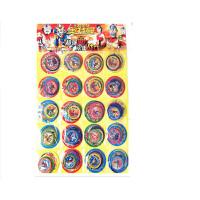我的卡片赛尔号洛克塑料圆卡加厚塑料圆卡片奥特曼卡片盾牌 多款卡片