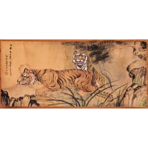 革命家,画家、政治活动家   何香凝《双君图》