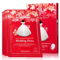 2018新款 韩国 MERBLISS Wedding Dress 限量版红宝石樱花面膜5片/盒