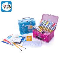 男女宝宝水彩涂鸦玩具绘画工具套装 儿童手指画颜料水洗