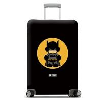 弹力旅行箱套20寸行李箱保护套24寸拉杆箱套28皮箱罩加厚耐磨30寸 蝙蝠侠 箱套 S码 19~21寸箱套