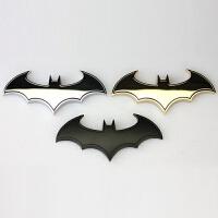 汽车3D外饰车贴 金属个性蝙蝠车标 改装车身贴 尾标 机盖标 侧标