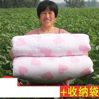 棉花被子手工棉被学生被褥春秋被单人双人棉胎定做床垫被芯冬被