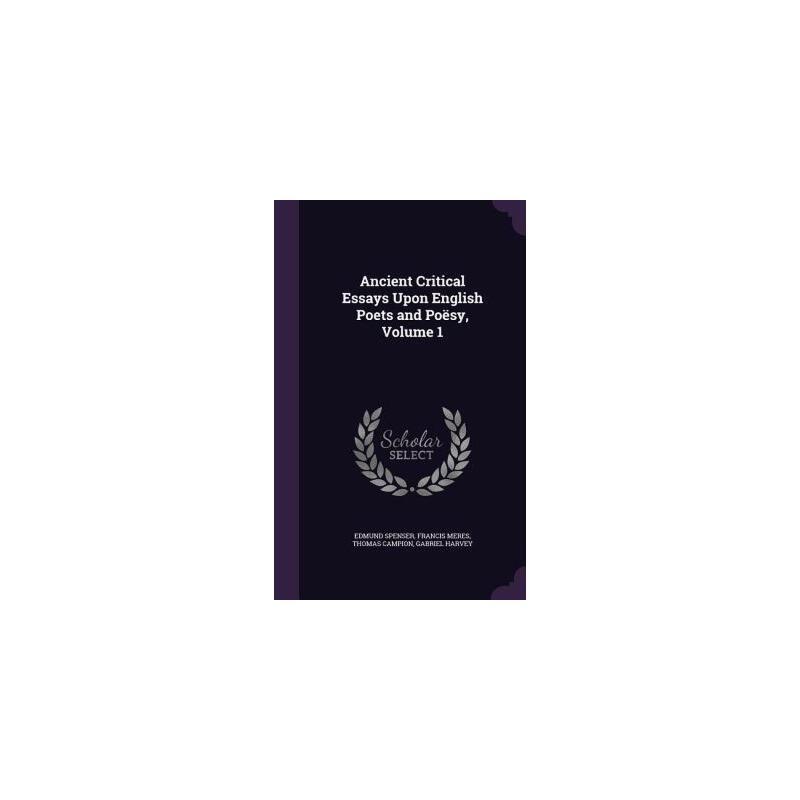 【预订】Ancient Critical Essays Upon English Poets and Poesy, Volume 1 预订商品,需要1-3个月发货,非质量问题不接受退换货。