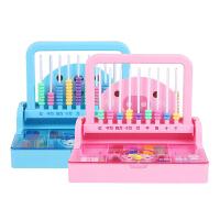 M&G晨光ASD99804儿童计数器宝宝早教玩具九行二合一智力学具颜色随机(1套)当当自营