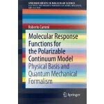 【预订】Molecular Response Functions for the Polarizable Contin
