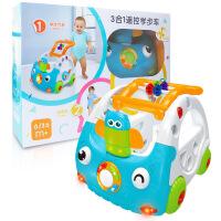 婴儿推车学步车玩具 带声光遥控可调节高度宝宝学步车儿童推车