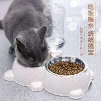 【支持礼品卡】【支持*】猫碗双碗猫食盆宠物狗盆狗碗自动饮水喂食器猫咪碗狗狗用品狗粮盆6ok