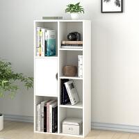 简易书架欧式落地书柜简约现代小木柜子储物柜自由组合收纳置物柜