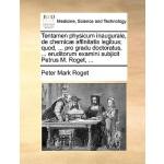 【预订】Tentamen Physicum Inaugurale, de Chemic] Affinitatis Le