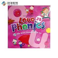 原装进口3-6岁 幼儿英语自然拼读phonics love phoncis 3B 台湾东西图书 零基础英语口音培训
