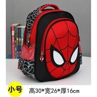 儿童书包幼儿园男宝宝卡通3D蜘蛛侠3-5-6岁4小班中班男童双肩包潮