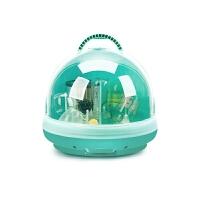 宝宝用品干燥带盖储存盒餐具沥水晾干架婴儿奶瓶收纳箱