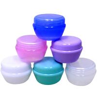 出差旅行化妆品分装瓶护肤品试用装小样瓶面霜盒分装盒空瓶子 50g-随机颜色