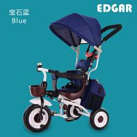 儿童三轮车脚踏车1-3周岁轻便可折叠宝宝自行车婴儿手推车