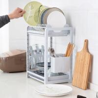 不锈钢置物架碗碟架整理架 多功能厨房用品碗架杯子沥水架收纳架