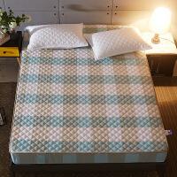 纯棉床笠单件夹棉加厚席梦思床垫保护套全棉床罩1.5m1.8米床垫套