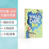 【全店300减100】英文原版 Roald Dahl Tales Of Childhood 罗尔德・达尔的童年故事儿童英