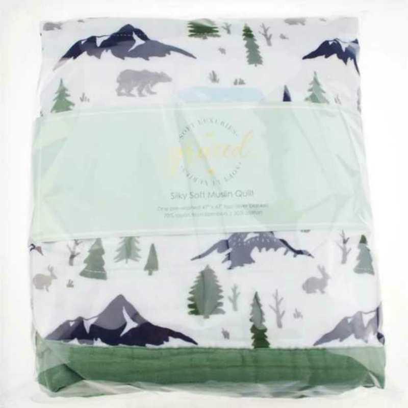 新生儿竹棉盖被宝宝夏天盖毯八层纱布毯婴儿六层竹纤维被子夏凉被